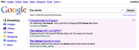 The Ashes is a big Cricket deal btw
